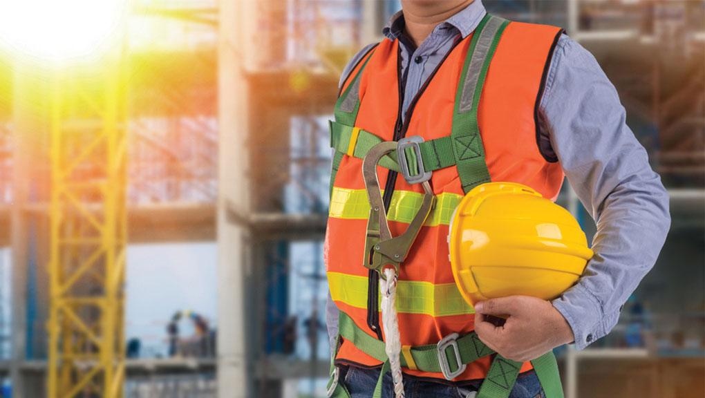 Presença do engenheiro civil na execução de obras.